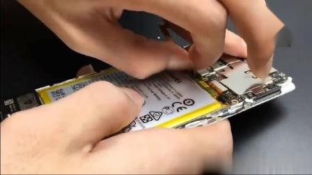 华为P9拆机视频 拆装电池 更换电池教程