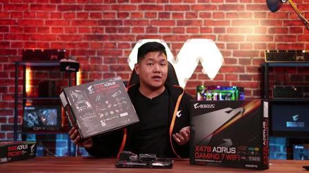 技嘉 AMD AM4 主板