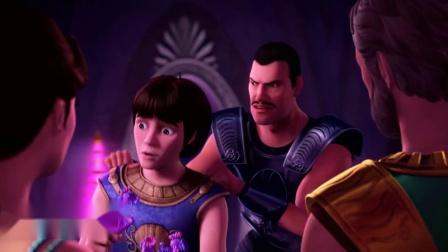 芭比之珍珠公主(片段)国王的弟弟推举自己不成器的儿子为国王!