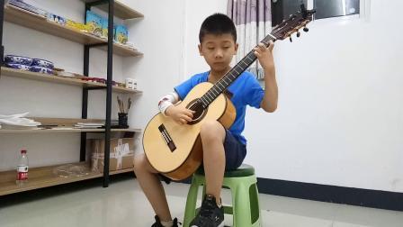 陶醉其中《欢乐颂》沈灏博 古典吉他