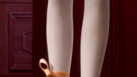 换上芭蕾舞裙真美! 菲丽西成功进入歌剧院
