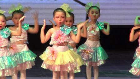 2018年合山市小天使少儿舞蹈培训中心第十二届文艺汇演《我的身体  幸福拍手歌律动》一级(1)班
