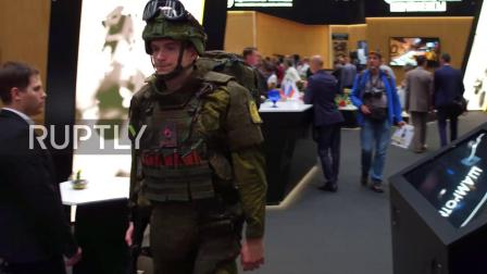 Russia- Future soldier exoskeleton makes debut at Army 2018