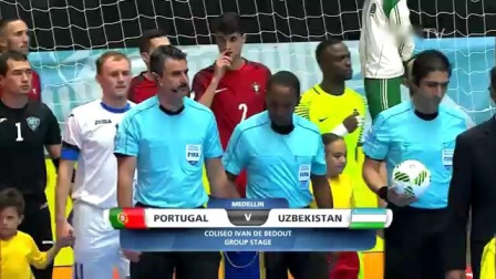 Match 26  Portugal v Uzbekistan - FIFA Futsal World Cup 2016