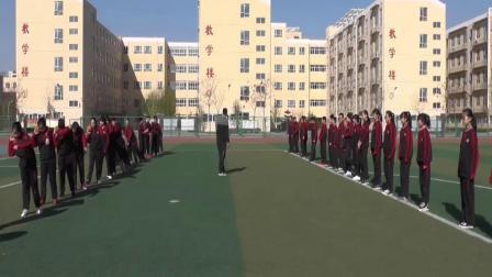 《原地侧向推掷实心球》优质课(初一体育与健康,张杰)