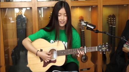 月月《寂寞的季节》吉他弹唱