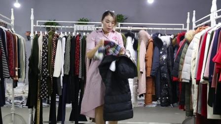 18新款冬装 品牌折扣女装批发 德禄鑫服饰