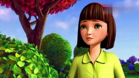 芭比之花仙子-人类女孩来找芭比,精灵谷好漂亮