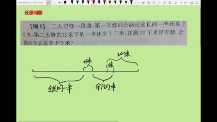 陈梓铫小微课:小学数学五年级-下 20180826 还原问题