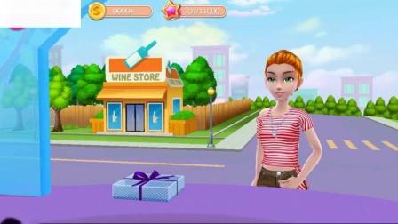我的面包店帝国学习颜色儿童游戏玩有趣的蛋糕烘焙装饰和服务的女孩游戏