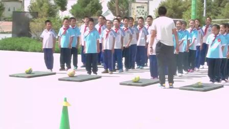 《快速跑-蹲踞式起跑》優質課(科學版五年級體育,杜學儒)