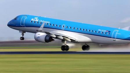 机场飞机起飞高清素材