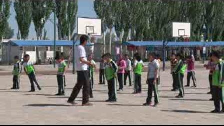 《立定跳遠》科教版三年級體育,酒泉市縣級優課
