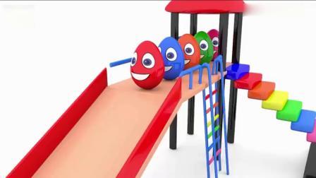 亲子早教 儿童通过彩蛋认识颜色