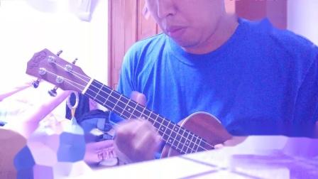 尤克里里方丹戈舞曲ukulele