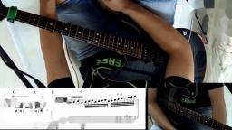 Beyond乐队经典电吉他Solo视频教学教程《Amani》示范与讲解【红鱼吉他】
