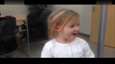 亲子早教 外国超可爱小女孩唱中文儿歌