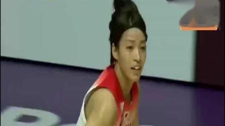2018雅加达亚运会女篮比赛李月汝25分中国女篮狂胜104分进半决赛