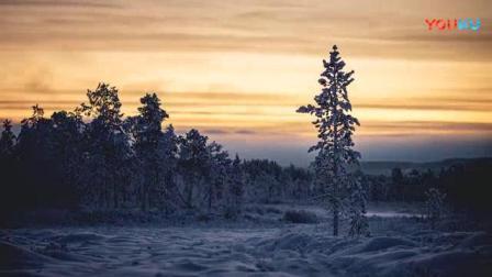 我在SPHJ-553-大自然风景北极光唯美实拍视频截了