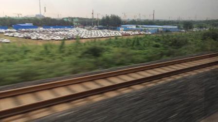 【长编组复兴号】G132次列车【上海虹桥-南】出济南西站。