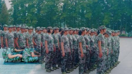 巴东县,第二高级中学2018新生军训风采录(中国.湖北)