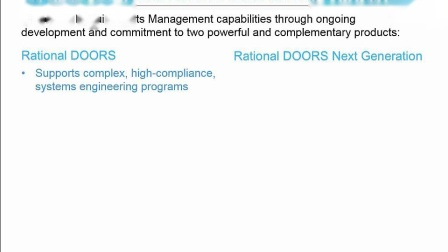 Migrating requirements from Rational DOORS to Rational DOORS Next Generation