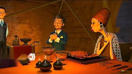 萨米大冒险2(片段)人类享用龙虾大餐,把龙虾吓得精分了!
