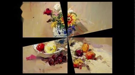 中国美术教程网:水粉画静物教学视频基础入门艺考生专用