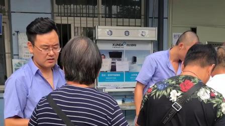 市液化石油气公司总经理张兴民亲自到十八里店液化气站助站