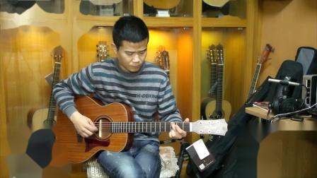 郭咚咚《分手的拥抱》指弹吉他弹唱