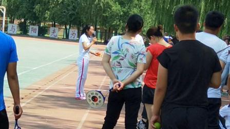 晋中市中小学教师柔力球培训班王永萍老师讲解初级套路《呼伦贝尔大草原》花絮