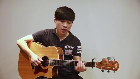 102《丑八怪》蓝莓吉他吉他教程入门弹唱教学