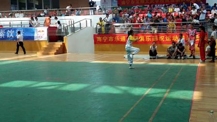 第十届中国~东盟(南宁)武术大会南拳卢幼婷