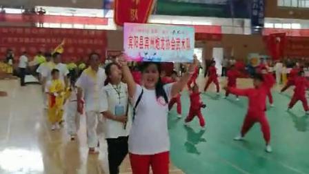 第十届中国~东盟(南宁)武术大会宾州炮龙协会武术队