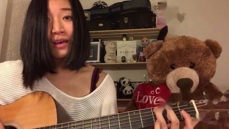 【翻唱】刘明湘-漂洋过海来看你(guitar cover) by希小包