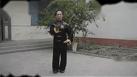 我在张志俊太极功夫传人武国防太极拳基本功二截了一段小视频