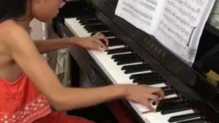 谈莉莉学生钢琴演奏 久石让—夏天(演奏者:陈若心)