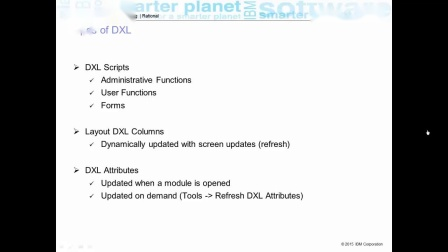 IBM DOORS v9.x- Introduction to DOORS eXtension Language (DXL)