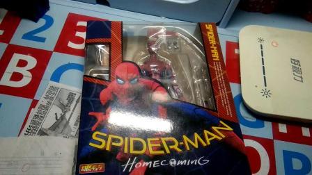 小崔玩具:万代蜘蛛侠shf≈258元,这258元,你们觉得值吗,拿到后想哭