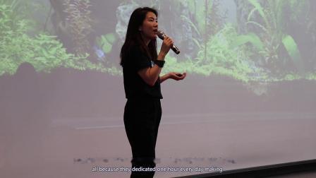 TEDxJNU   Marina Chan 学习是一个重塑自身的门户