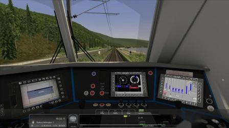 模拟火车2018-193驾驶视频
