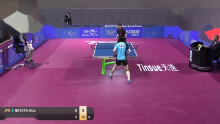 2016 World Tour Grand Finals Highlights Hina Hayata vs Cheng I-Ching (R16)
