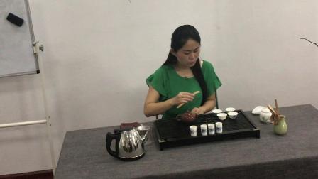 茶艺考试紫砂壶冲泡
