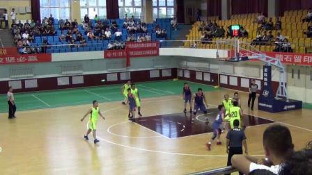 2018年9月4日交城县职工篮球季军争夺赛(教育系统VS财经系统)