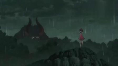 咯咯咯的鬼太郎:猫女被牛鬼追赶到悬崖边做好了牺牲自己的准备