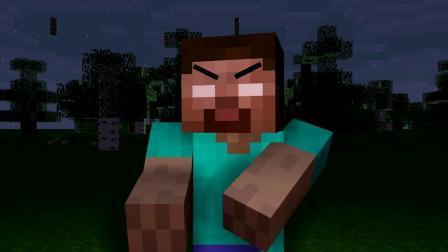 我的世界动画-哈喽邻居挑战-Minecraft Animation
