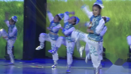 4-11《马蹄哒哒》河南省沁阳市蓓蕾舞蹈培训中心
