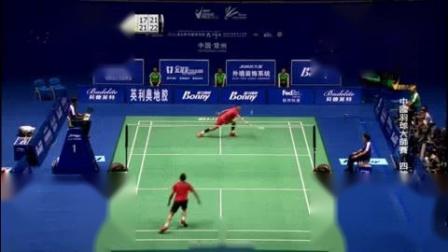 我在【哇哈體育】2016.04.24 中國羽球大師賽 男單決賽 諶龍vs林丹 博斯體育 HD 720P  國語截了一段小视频