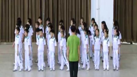 《前滾翻成支腿坐撐》二年級體育,陳俊生