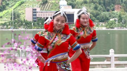 红河州第三套民族广场健身舞(03.马樱花)